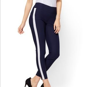 HIGH-WAISTED PULL-ON ANKLE PANT - ULTRA STRETCH